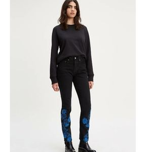 Levi's Made And Crafted High Waisted Jeans